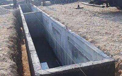 betonowy kanał samochodowy 1